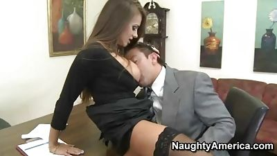 Clips of sex in office